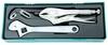 P2803ST (P2803SP) Комплект инструмента разводной ключ, струбцина, переставные клещи, 3 предмета (ложементы)