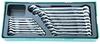 W26116ST (W26116SP) Набор комбинированных ключей 6-24 мм, 16 предметов (ложемент)