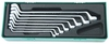 W23108ST (W23108SP) Набор ключей накидных 75-гр, 6-22 мм, 8 предметов (ложемент)