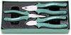 P0813SC Ложемент с пластиковой крышкой (пассатижи, утконосы, бокорезы) 3 предмета