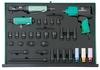 """JA-C231SV Набор пневматического инструмента 1/2""""DR и ударных торцевых головок с аксессуарами.  31 предмет в EVA ложементе 560х400 мм."""