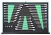 """W60246139SV Набор трещоточных с реверсом  комбинированных ключей и  1/4""""DR, 3/8""""DR, 1/2""""DR адаптеров, разрезных ключей и комбинированных ключей, 39 предметов"""