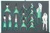 P82714SV Набор шарнирно-губцевого инструмента. 14 предметов в EVA ложементе 560х400 мм.