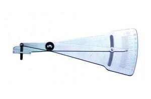 Приспособление для измерения толщины тормозных колодок и глубины протектора FORCE 9B1802